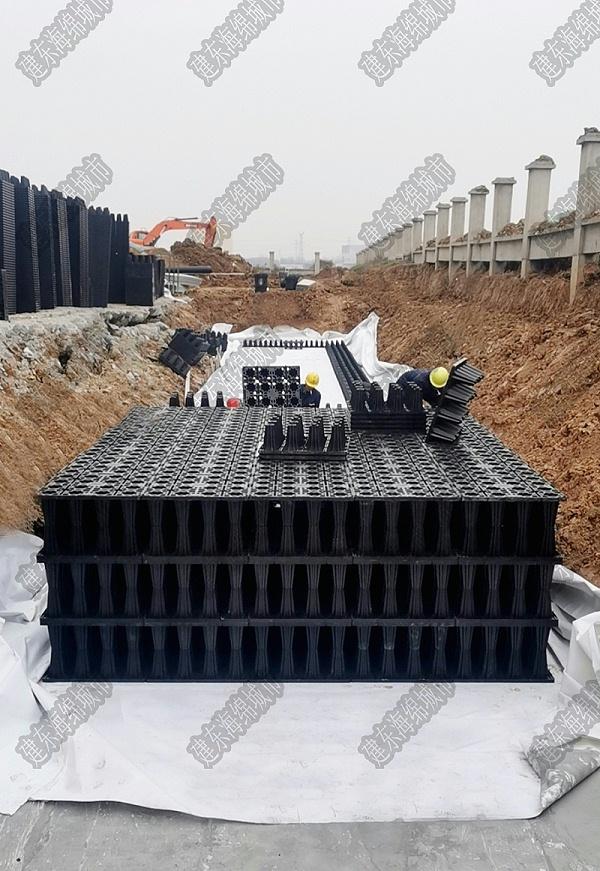 PP蓄水模块是雨水收集系统的重要组成部分