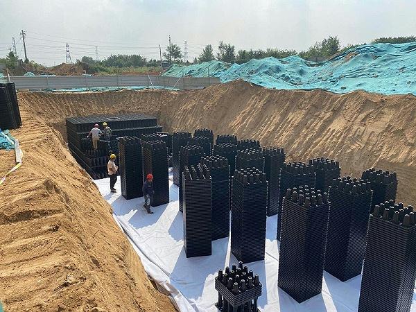 雨水收集系统满足对城市内涝治理的要求