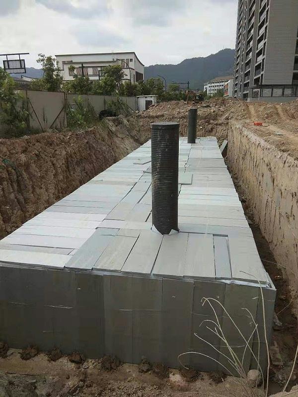 雨水回收系统是海绵城市的一部分