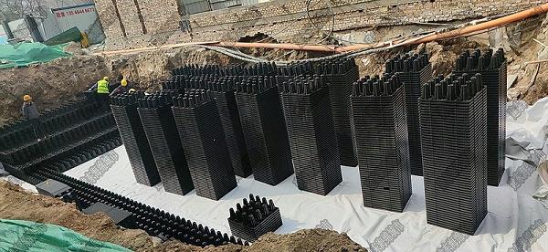 太原中车国际广场雨水收集项目