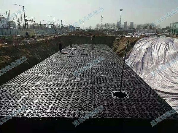 连云港东海高铁站雨水收集项目