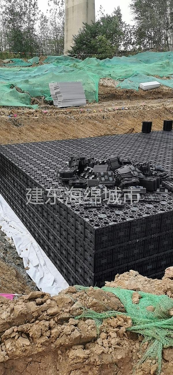秦淮风光带雨水收集