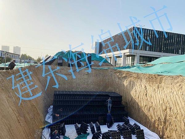 成都空港新城企业总部雨水收集