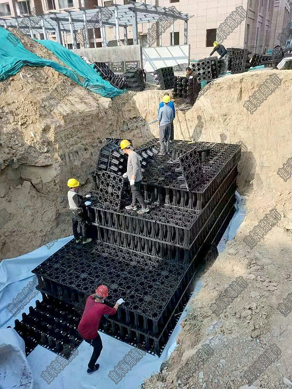 PP模块雨水收集池做法