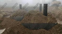 雨水收集系统PP模块的安装和形式