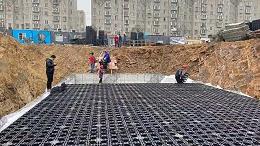 雨水收集检查井模块的做法以及区别
