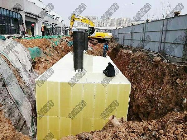 济南融创万达停车楼雨水收集项目